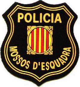 Escudo del Cuerpo de los Mossos d'Esquadra