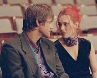 Jim Carrey y Kate Winslet, en una escena suprimida de 'Olvídate de mí'