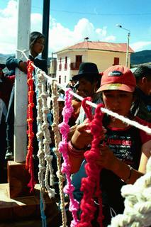 Construcción de Quipu