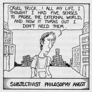 I am confused about the definition of moral subjectivism ...