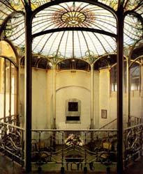 Not pc victa horta horta house for Art nouveau fenetre