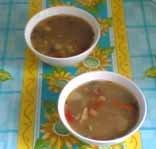 Суп фасолевый Пестрый