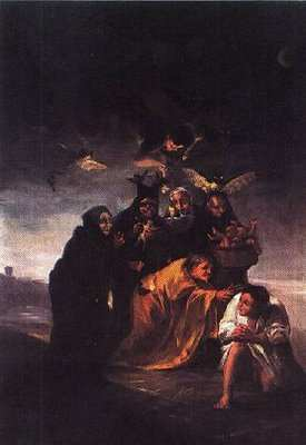 Francisco de Goya, The Incantation