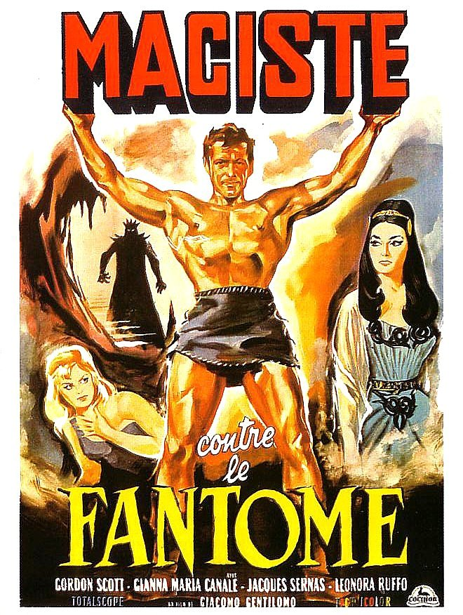 THE FRINGE FANTASY FILM SHOW: III. THE ITALIAN MACISTE MOVIES FROM ...