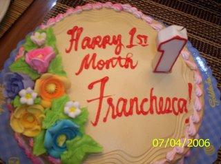 happy 1st month