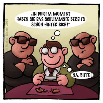 Glückskeks Glück Mafia Chinarestaurant Chinese Cartoon Cartoons Witze witzig witzige lustige Bilder Bilderwitz Bilderwitze Comic Zeichnungen lustig Karikatur Karikaturen Illustrationen Michael Mantel lachhaft Spaß Humor Witz