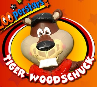 Tiger Woodschuck