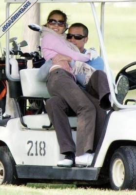 they golf together