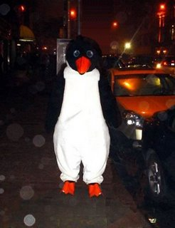 This isn't NPH, this is my friend Andy who --penguin suited up-- for Halloween in 2004.  He is still bitter he lost the Time Warner costume contest to some guy dressed in drag