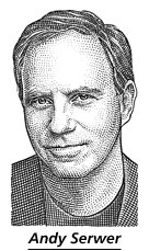 You know you've made it when you get a hedcut in the Wall Street Journal