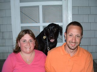 Kate and Paul with Diesel in 2006