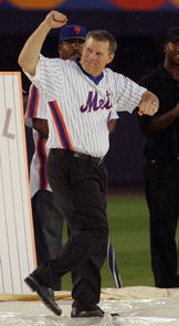 Lenny Dykstra, the man they call Nails on the Mets ballclub