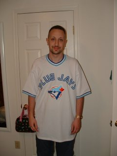 1987 Toronto Blue Jays Cecil Fielder, I had to represent my mom's favorite team, and this jersey is special because it's the only one Kate ever bought for me
