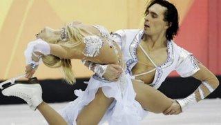 the chick from the Ukraine wears Booby tassles -- the Ukraine is not weak