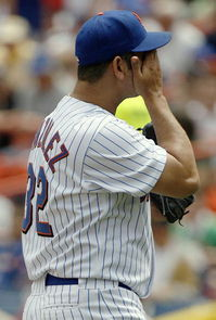 This is the only picture I had of him in a Mets uniform