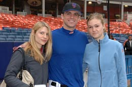 With David Wright and Clare Danes