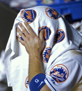that's David Wright under there