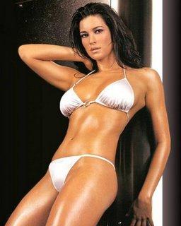Manuela Arcuri, ex-girlfriend of Italy's Francesco Coco