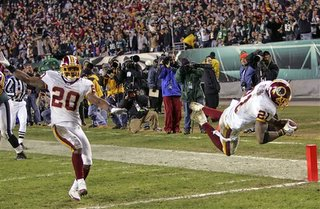 Sean Taylor's fumble recovery seals the victory