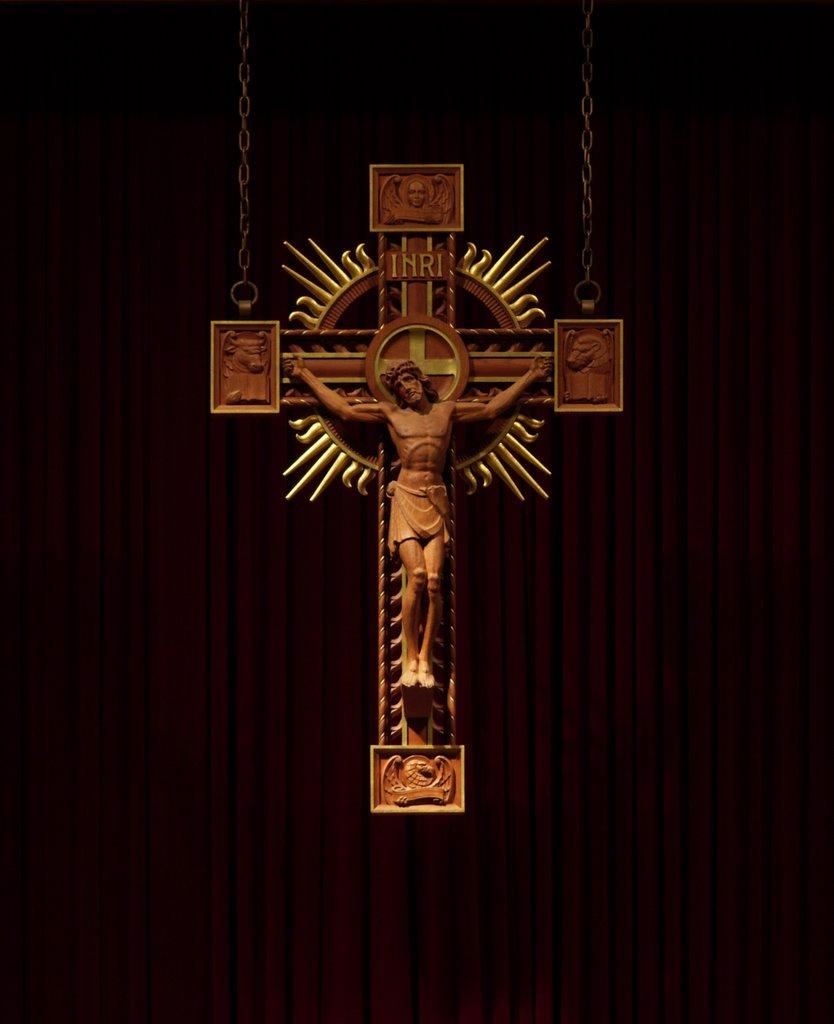 Catholic Crucifix Wallpaper Annunziata Roman Catholic