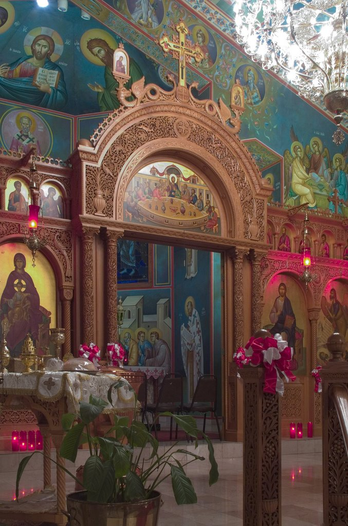 rome of the west  photos of assumption greek orthodox church  in town and country  missouri