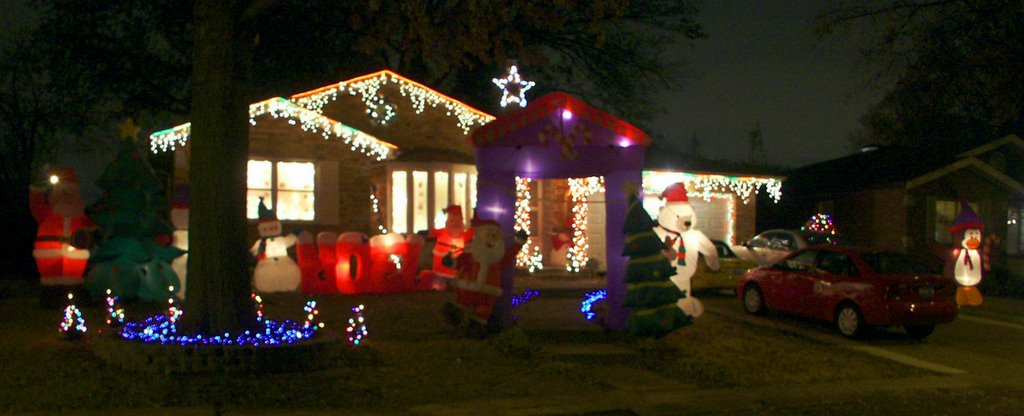 rome of the west photos of christmas lights in saint louis hills