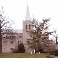 Annunziata Roman Catholic Church, in Ladue, Missouri, USA =
