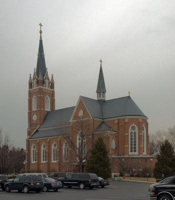 All Saints Church, in Saint Peters, Missouri, USA -