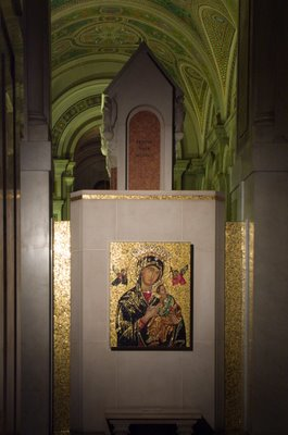 Cathedral Basilica of Saint Louis, in Saint Louis, Missouri - Icon of Our Mother of Perpetual Help