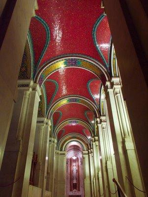 Cathedral Basilica of Saint Louis, in Saint Louis, Missouri - ambulatory