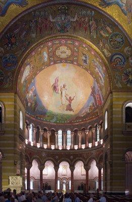 Cathedral Basilica of Saint Louis, in Saint Louis, Missouri - east transept