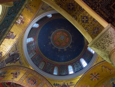 Cathedral Basilica of Saint Louis, in Saint Louis, Missouri - historical dome