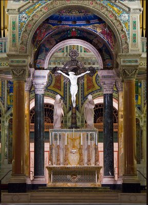 Cathedral Basilica of Saint Louis, in Saint Louis, Missouri - high altar