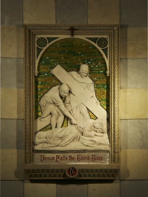 Cathedral Basilica of Saint Louis, in Saint Louis, Missouri, USA - Station of the Cross