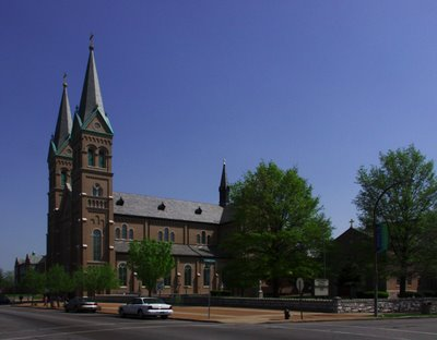 Saint Anthony of Padua Roman Catholic Church, in Saint Louis, Missouri, USA - exterior