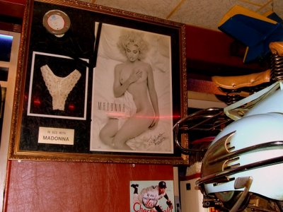 Madonna's Knickers and a Moped