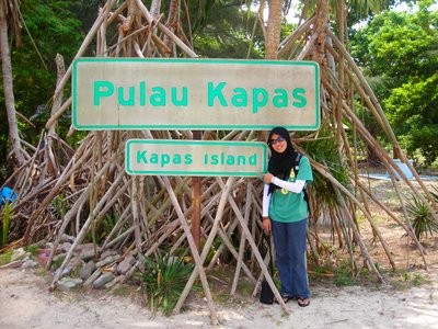 jejak di Pulau Kapas..