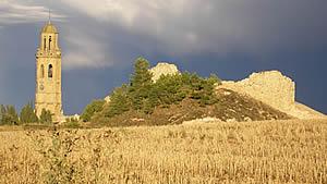 Fotografia de Calaf, seu de la Ballada popular Country de Catalunya