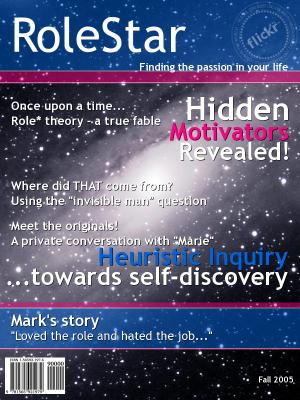 RoleStar magazine cover