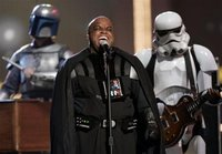 Gnarls Barkley with Chewbacca on drums