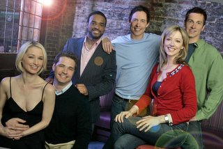 The cast of Love Monkey