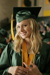Veronica Mars at graduation