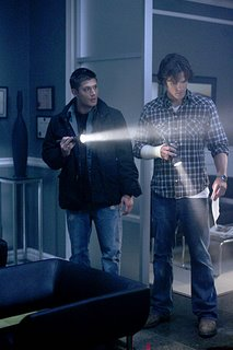 Sam and Dean in the dark again
