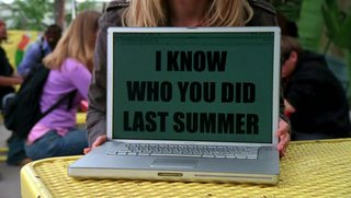 I Know who you did last summer