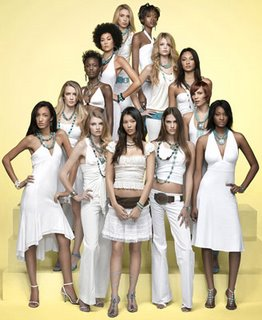 The girls of the 6th cycle of America's Next Top Model