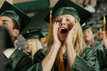 Veronica Mars at graduation