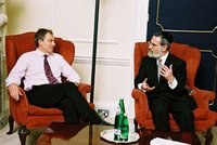 The Chief Rabbi of England lets Tony in on the truth..theirs that is