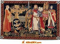 Legend has Arthur returning once more to free the Cymru(Welsh) from the Saxons(English