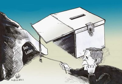 Bush's secret ballot box for upcoming elections
