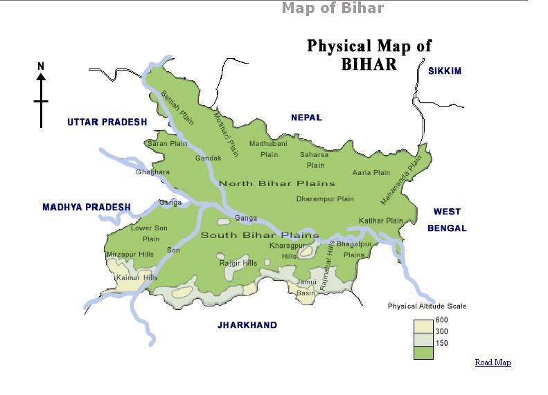 Image result for Bihar forest map